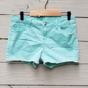 Justice | Mint Green Shorts
